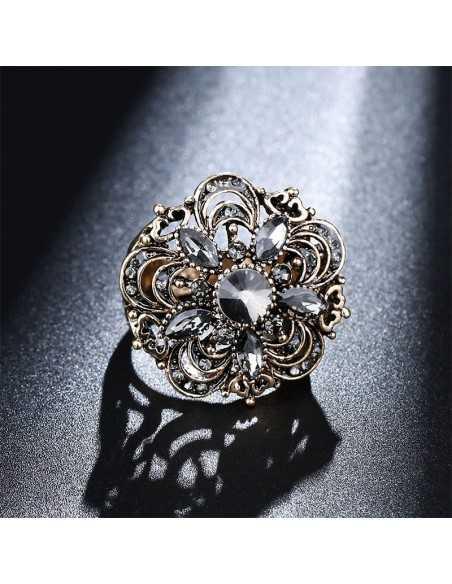 Inel Crystal Flower vintage Inele 78,18lei