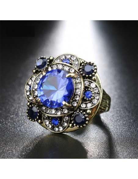 Inel Bohemian Queen Albastru Inele 68,00lei