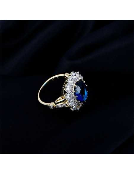 Inel Lady Dy Albastru Inele 94,00lei