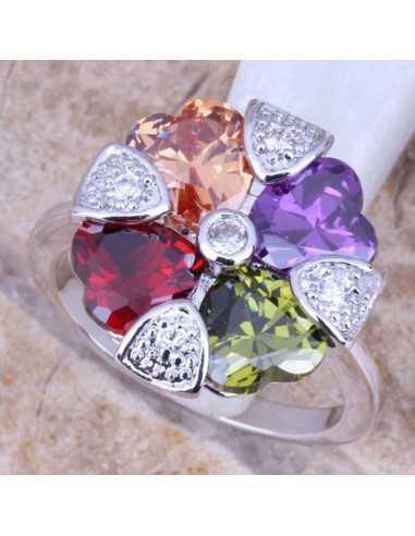 Inel Shining Heart Multicolor Inele 86,00lei