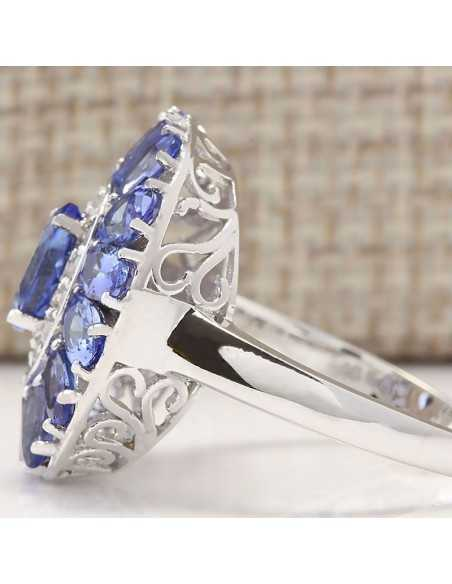 Inel Grand Crystal Albastru Inele 89,00lei
