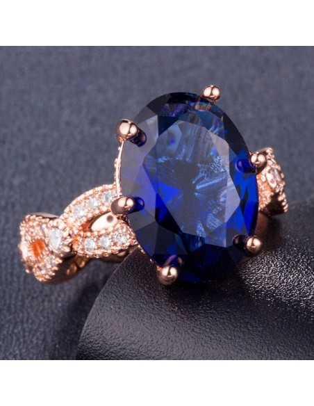 Inel Golden Star Albastru Inele 78,00lei