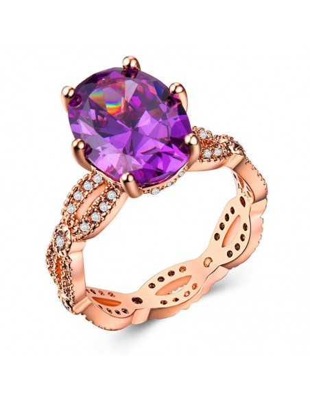 Inel Golden Star Violet Inele 78,00lei