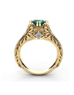Inel Golden Knight Verde Inele 63,00lei