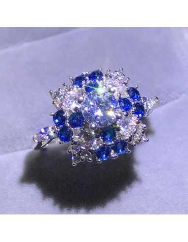 Inel Delta Albastru Inele 85,00lei