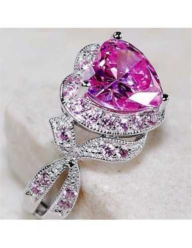 Inel Lovely Heart Violet Inele 87,00lei