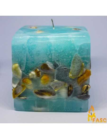 Lumanare Adori Cub din Ocean Lumanari Decorative 56,00lei