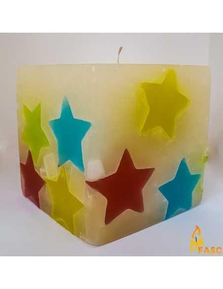 Lumanare Adori Cub din Noapte Multicolor Lumanari Decorative 55,00lei