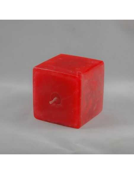 Lumanari Cubix Mic din Rubin Lumanari Decorative 12,00lei