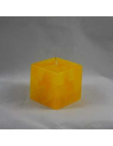 Lumanari Cubix Mic din Topaz Lumanari Decorative 12,00lei