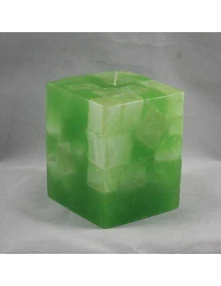 Lumanari Cubix Mare din Emerald Lumanari Decorative 35,00lei