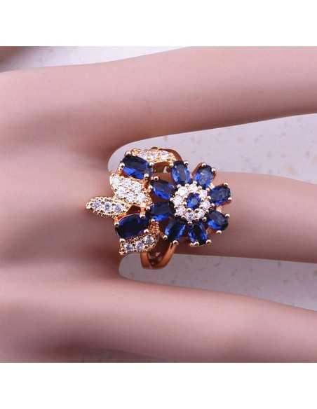 Inel Magic Flower Albastru Inele 88,00lei