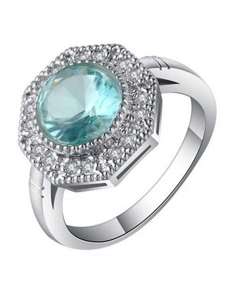Inel Argintat Narcisa Albastru Inele 66,00lei
