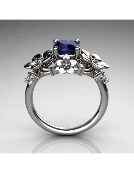 Inel Argintat Nature Bleu Inele 58,31lei