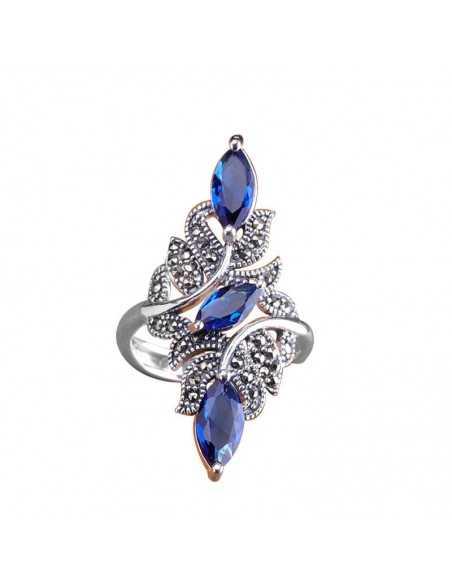 Inel Argintat Magic Albastru Inele 65,45lei