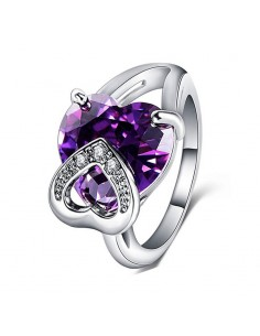 Inel Argintat Hearts Violet Inele 60,69lei