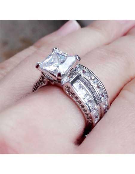 Set inele argintate Royal Inele 69,02lei