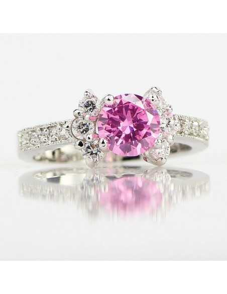 Inel Argintat The Pink Roz Inele 65,45lei