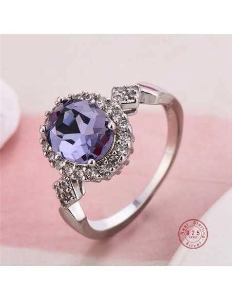 Inel Argintat Anatema Violet Inele 65,45lei