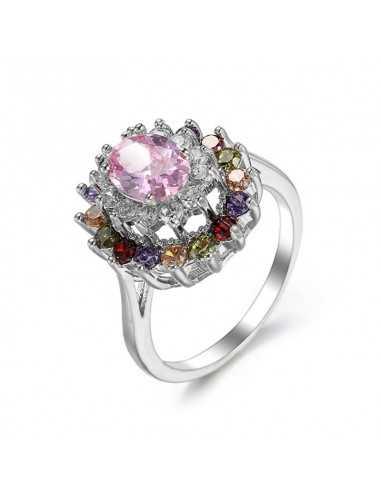 Inel Argintat Glamour multicolor Inele 66,00lei