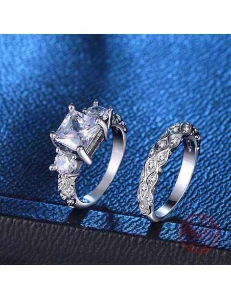 Inel Argintat Terra Inele 65,45lei