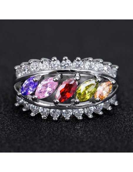 Inel Argintat Nobilia Multicolor Inele 66,00lei