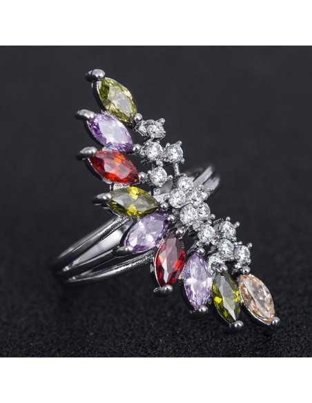 Inel Argintat Divine Multicolor Inele 65,00lei