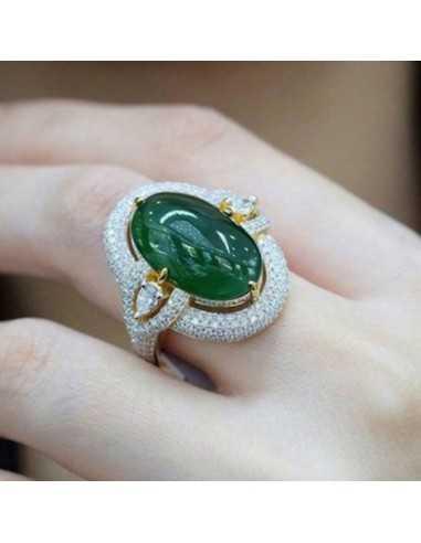 Inel Vintage Verde Inele 67,00lei