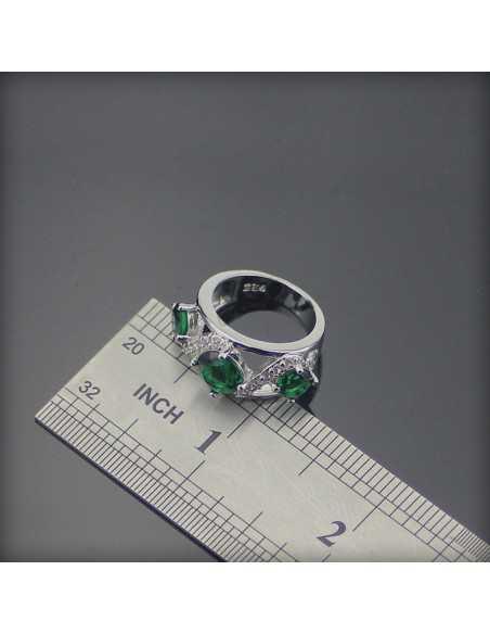 Set Bijuterii argintat Heka Verde Set Bijuterii 192,00lei