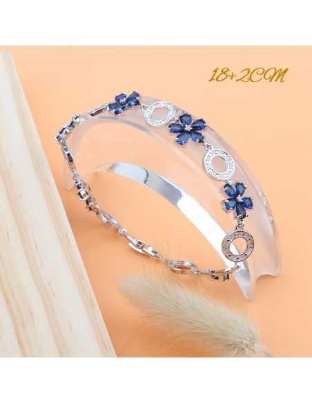 Set Bijuterii argintate Diana Albastru Set Bijuterii 197,00lei