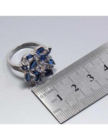 Set Bijuterii argintat Honir Albastru Set Bijuterii 191,00lei