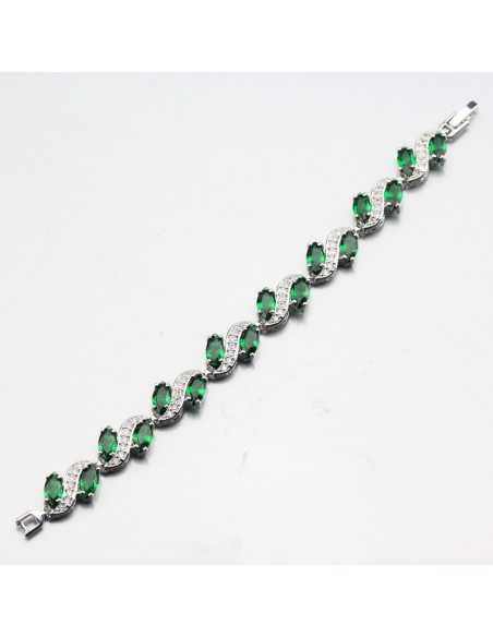 Set Bijuterii argintat Tyr Verde Set Bijuterii 194,00lei