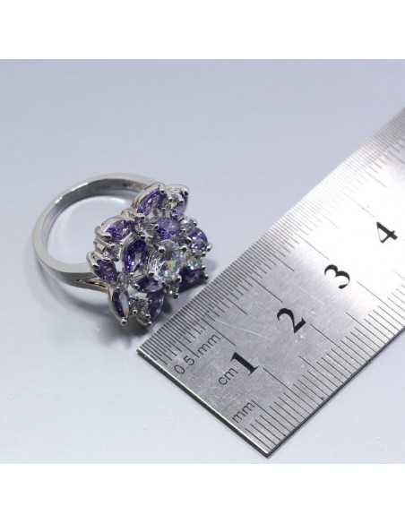 Set Bijuterii argintat Lyon Violet Set Bijuterii 195,00lei