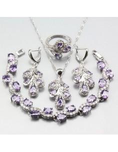Set Bijuterii argintat Nature Violet Set Bijuterii 196,00lei