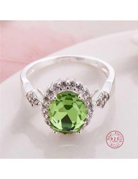 Inel Argintat Anatema Verde Inele 64,00lei