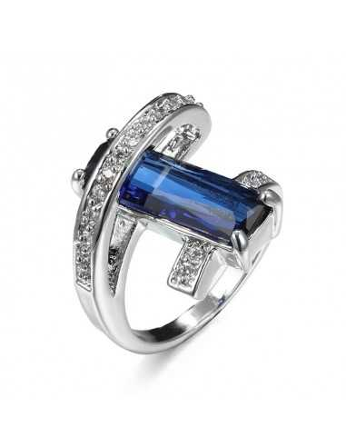Inel Argintat Virtuti Albastru Inele 69,02lei