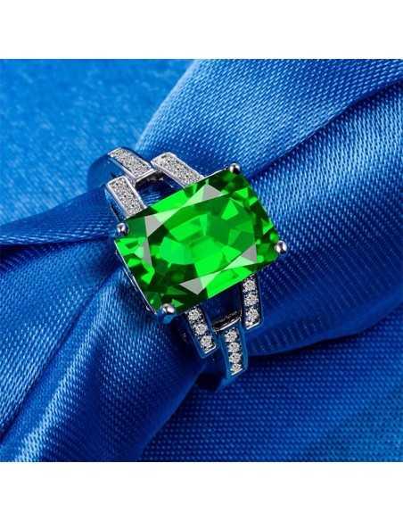 Inel Argintat Hermes Verde Inele 67,38lei