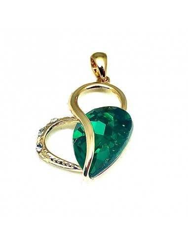 Pandantiv Golden Hearts Verde Pandante 53,00lei
