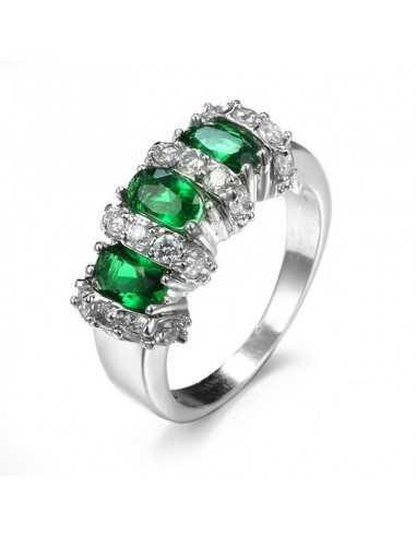 Inel Argintat Mistress Verde Inele 65,45lei
