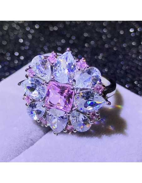 Inel Pink Drop Inele 85,00lei
